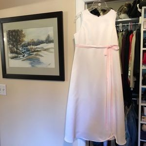 Brand new white flower girl/communion dress